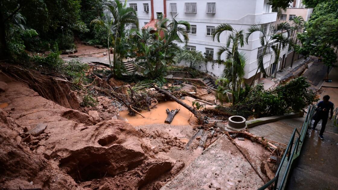 Brésil: nouveau déluge dans le sud-est, Belo Horizonte inondée