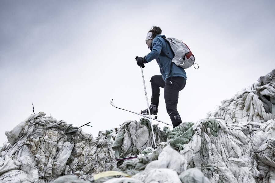 Emelie Forsberg, championne de trail et de ski-alpinisme