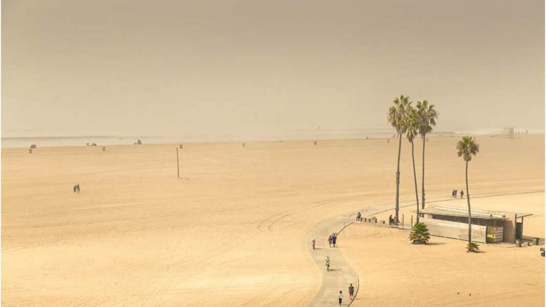Santa Monica, ville côtière, à l'ouest de Los Angeles