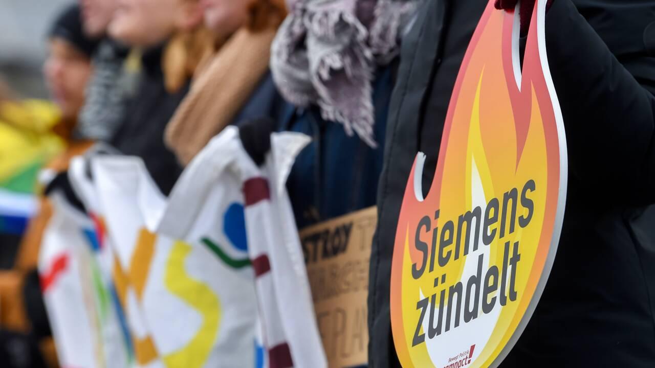 Siemens devient une cible privilégiée des défenseurs du climat