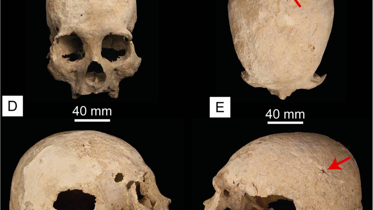 Un squelette vieux de 9900 ans découvert dans une grotte sous-marine au Mexique