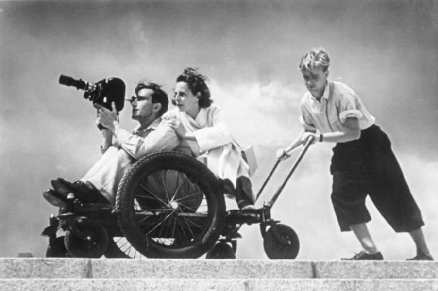 Leni Riefenstahl (1902 – 2003), sa réalisatrice favorite