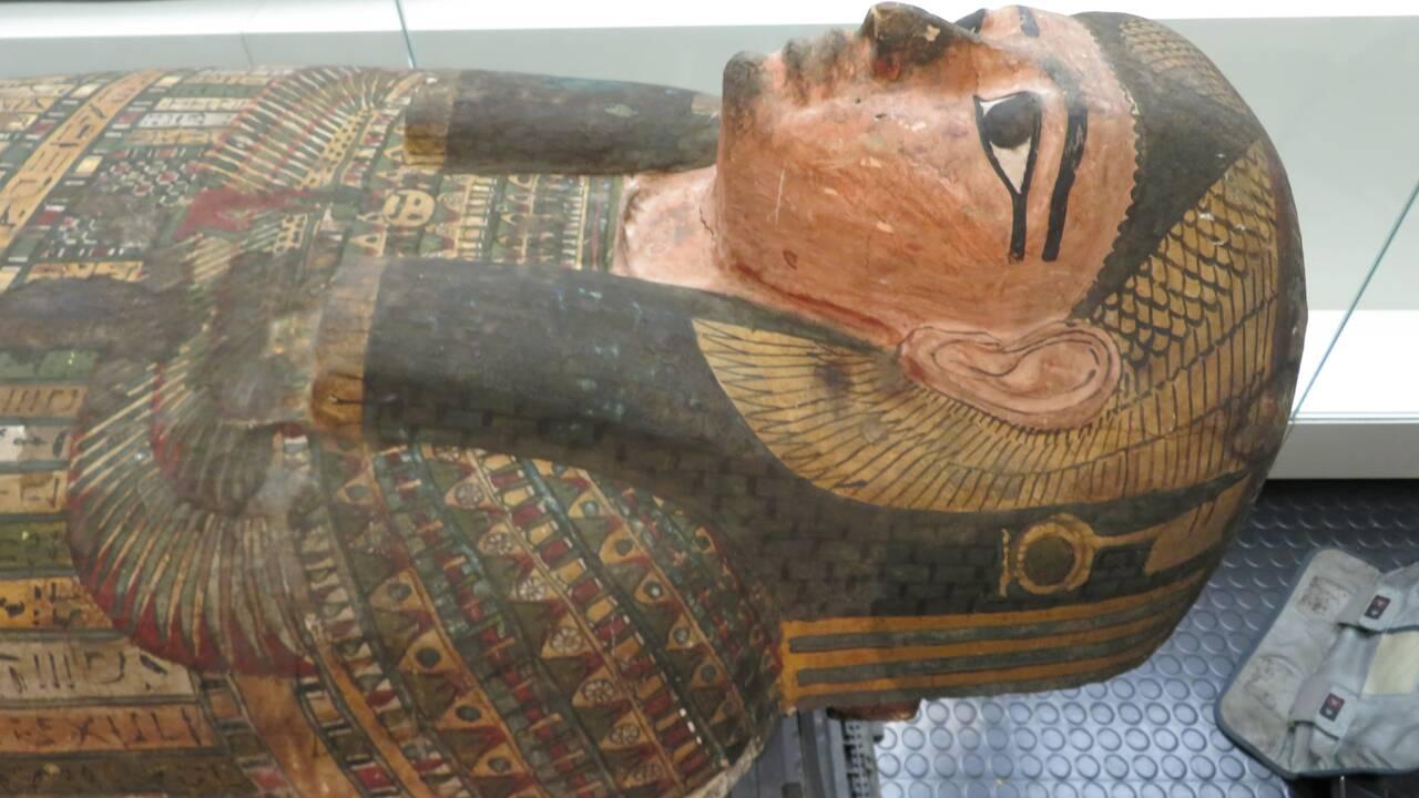 Le mystère d'une momie égyptienne résolu 2600 ans après