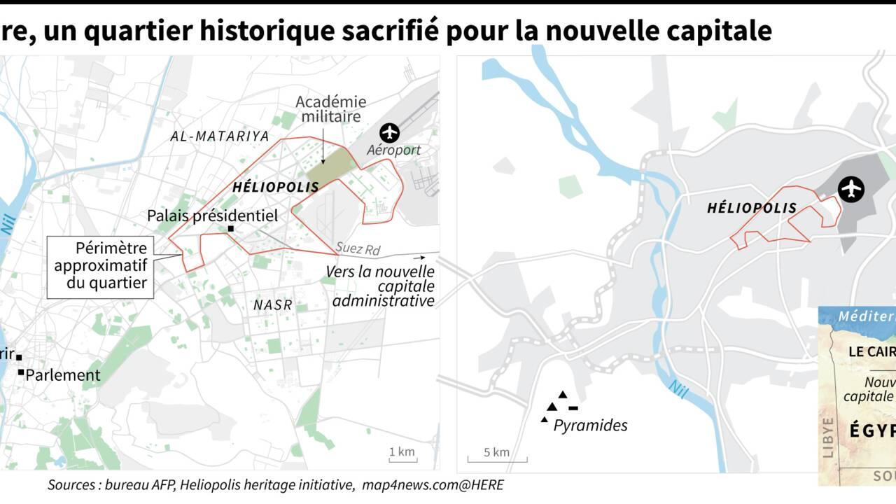 Egypte : au Caire, un quartier historique sacrifié sur l'autel de la nouvelle capitale
