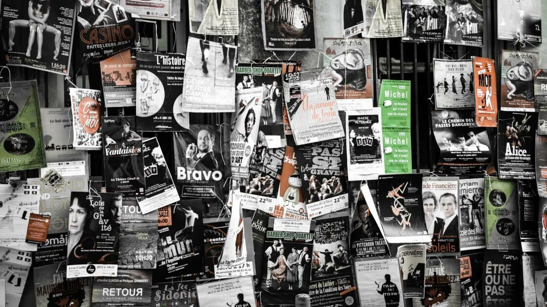Les affiches du festival d'Avignon devraient se faire plus discrètes