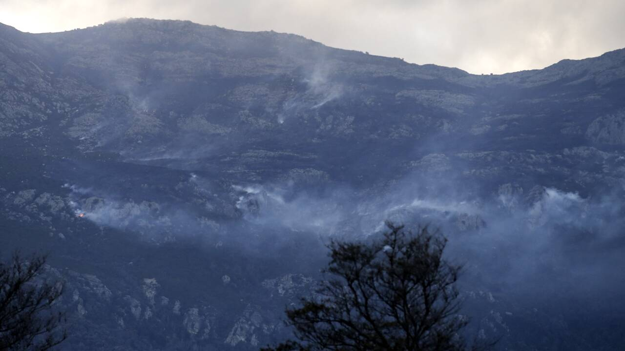 Plusieurs incendies en Corse, toujours en vigilance orange pour vent violent