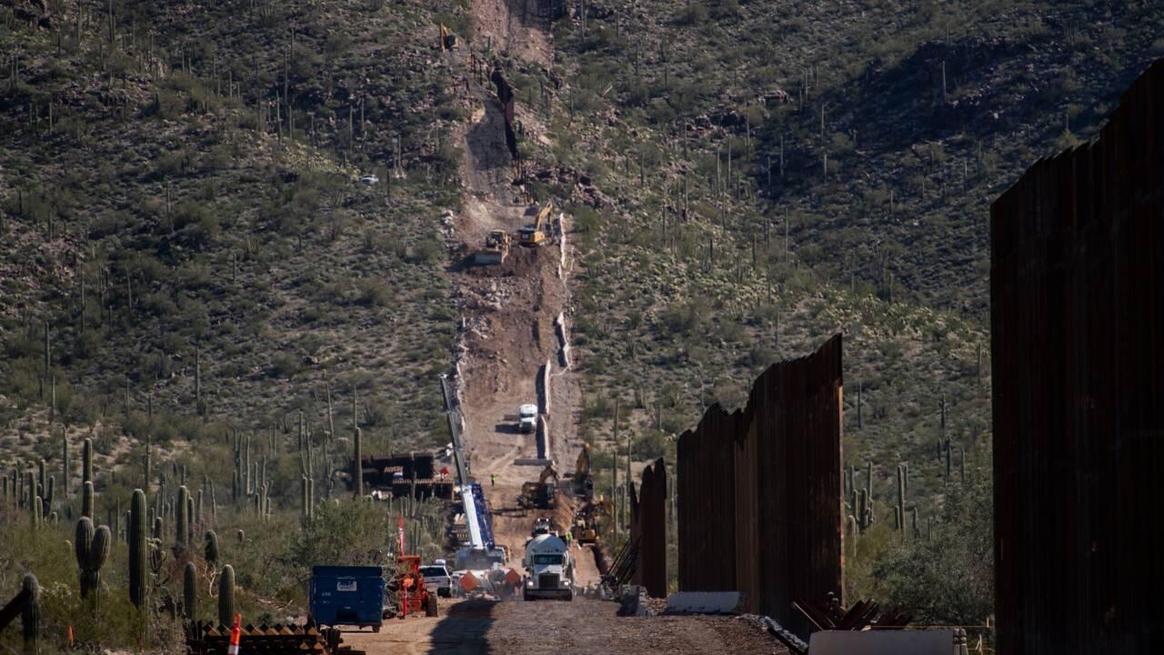 Des sites sacrés amérindiens détruits pour construire le mur de Trump en Arizona