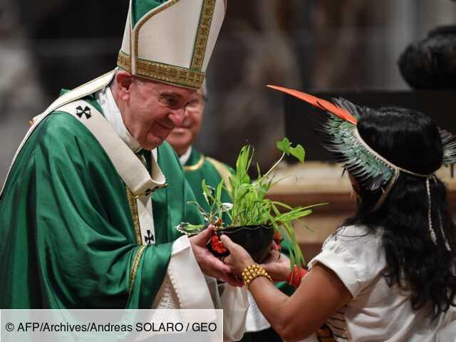Amazonie: plaidoyer du pape, a priori sans feu vert aux prêtres mariés