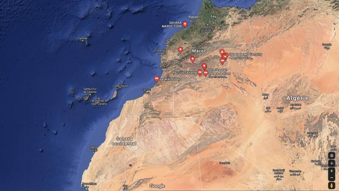 Comment Google Maps redessine les frontières selon le pays où vous le consultez