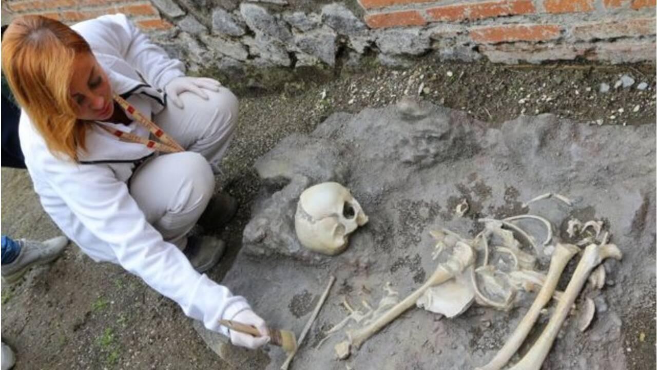 A Pompéi, des thermes romains tirés de l'oubli