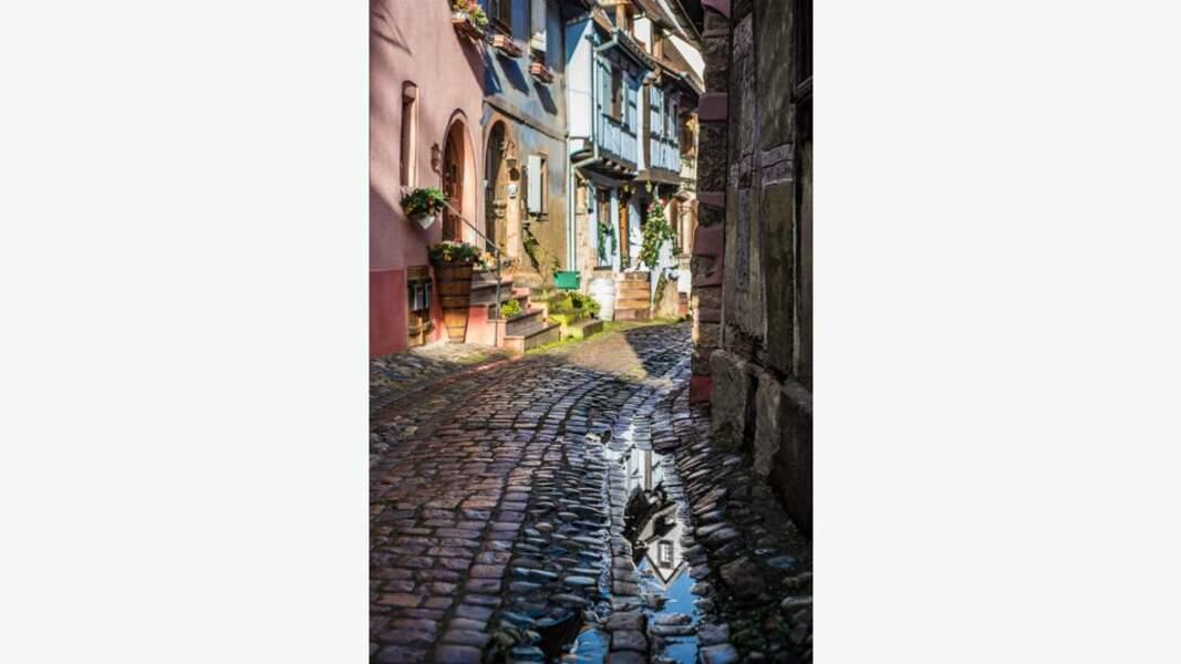 Reflet à Eguisheim