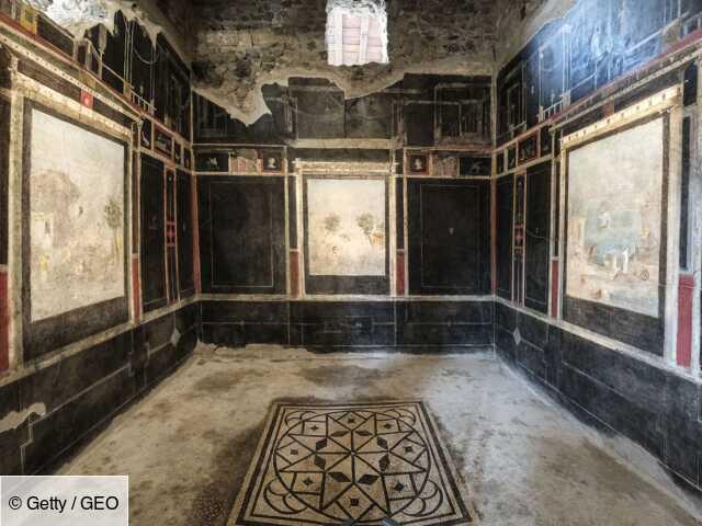A Pompéi, trois superbes maisons romaines rouvrent au public