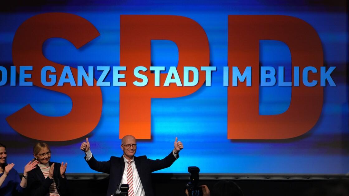 En pleine crise, la droite d'Angela Merkel sanctionnée à Hambourg