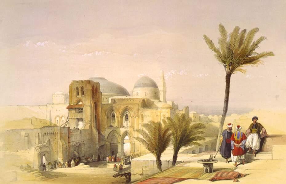 L'église du Saint-Sépulcre, à Jérusalem