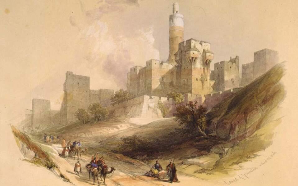 La Citadelle de Jérusalem sans les murs