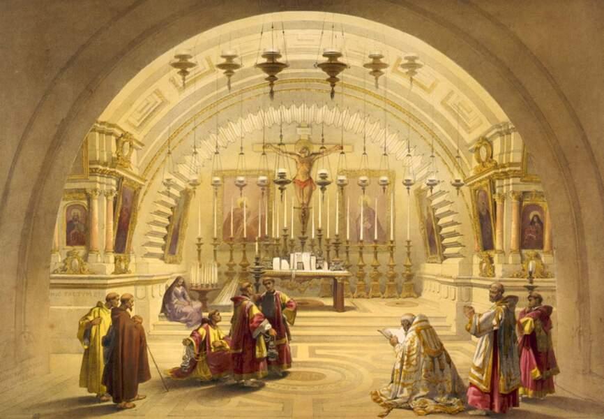Le Calvaire à Jérusalem, 1839