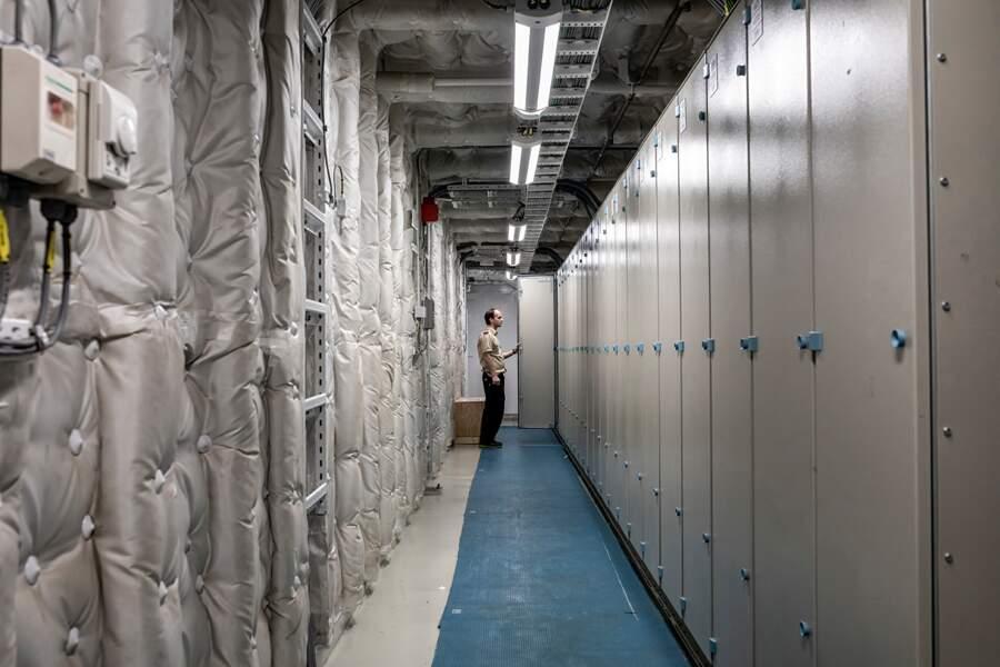 Une salle des machines aseptisée