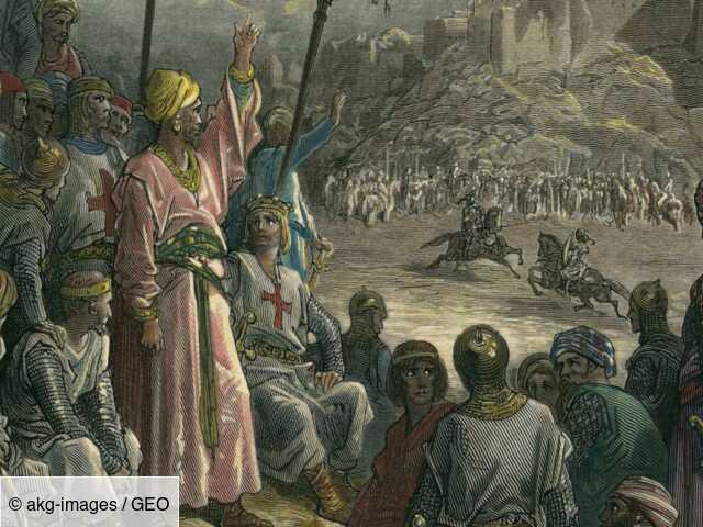 Comment Jérusalem est devenue la plus grande cité franque d'Orient