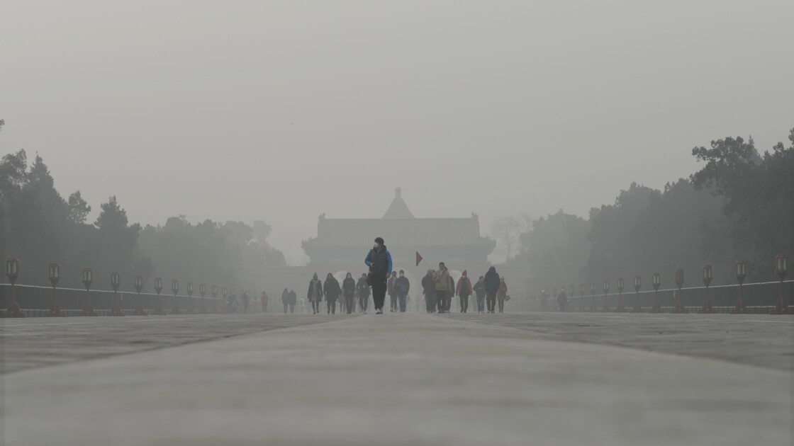 La Chine et l'Inde sous la menace de la pollution aux micro-particules