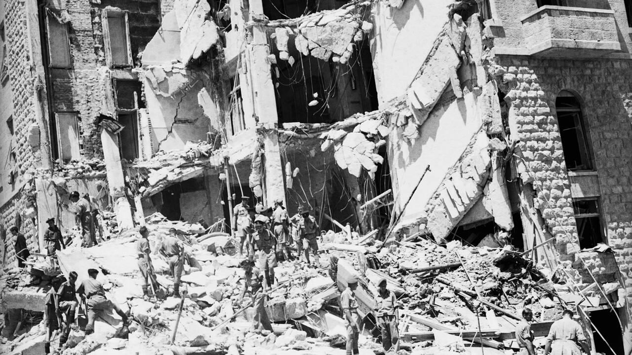 Jérusalem : retour sur l'attentat de l'hôtel King David