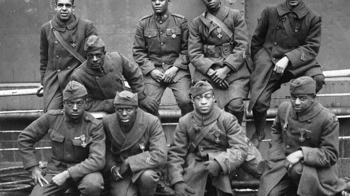 Les Poilus de Harlem : ces soldats noirs oubliés de l'Amérique