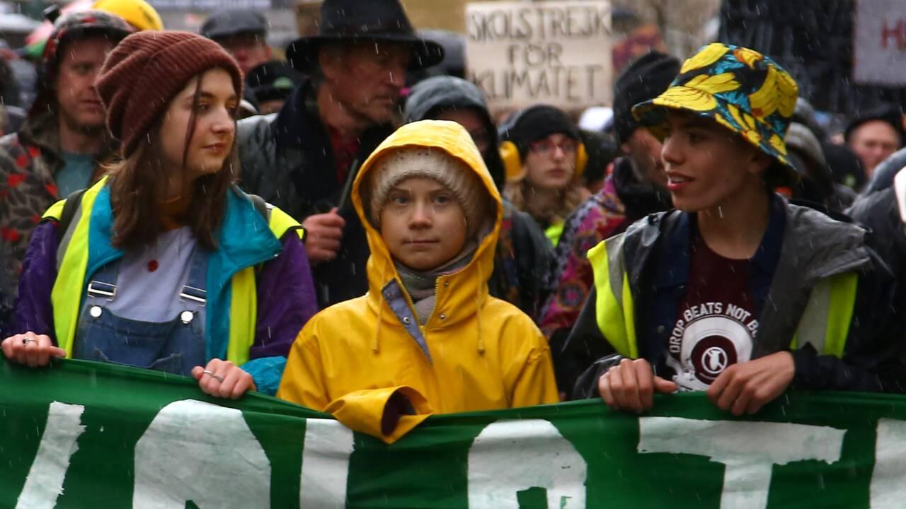 """""""L'activisme marche"""": à Bristol, Greta Thunberg appelle les jeunes à """"agir"""""""