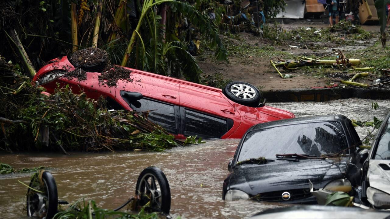 Inondations près de Sao Paulo: le bilan s'alourdit à 16 morts, 32 disparus
