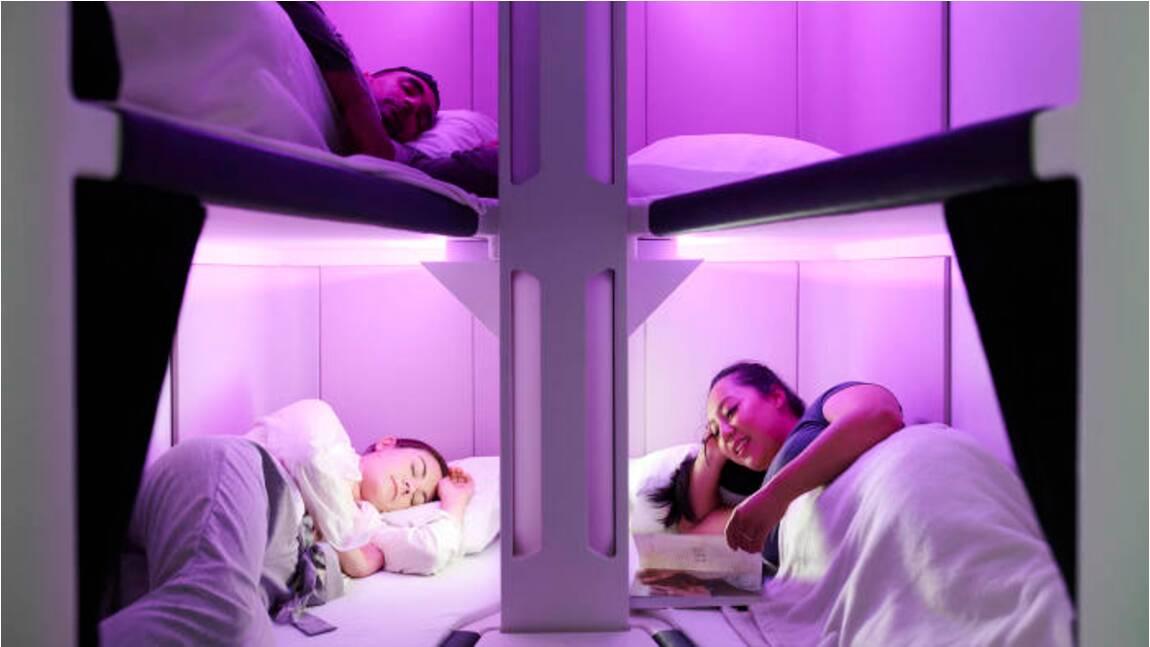 Une compagnie aérienne veut proposer des lits capsules en classe économique