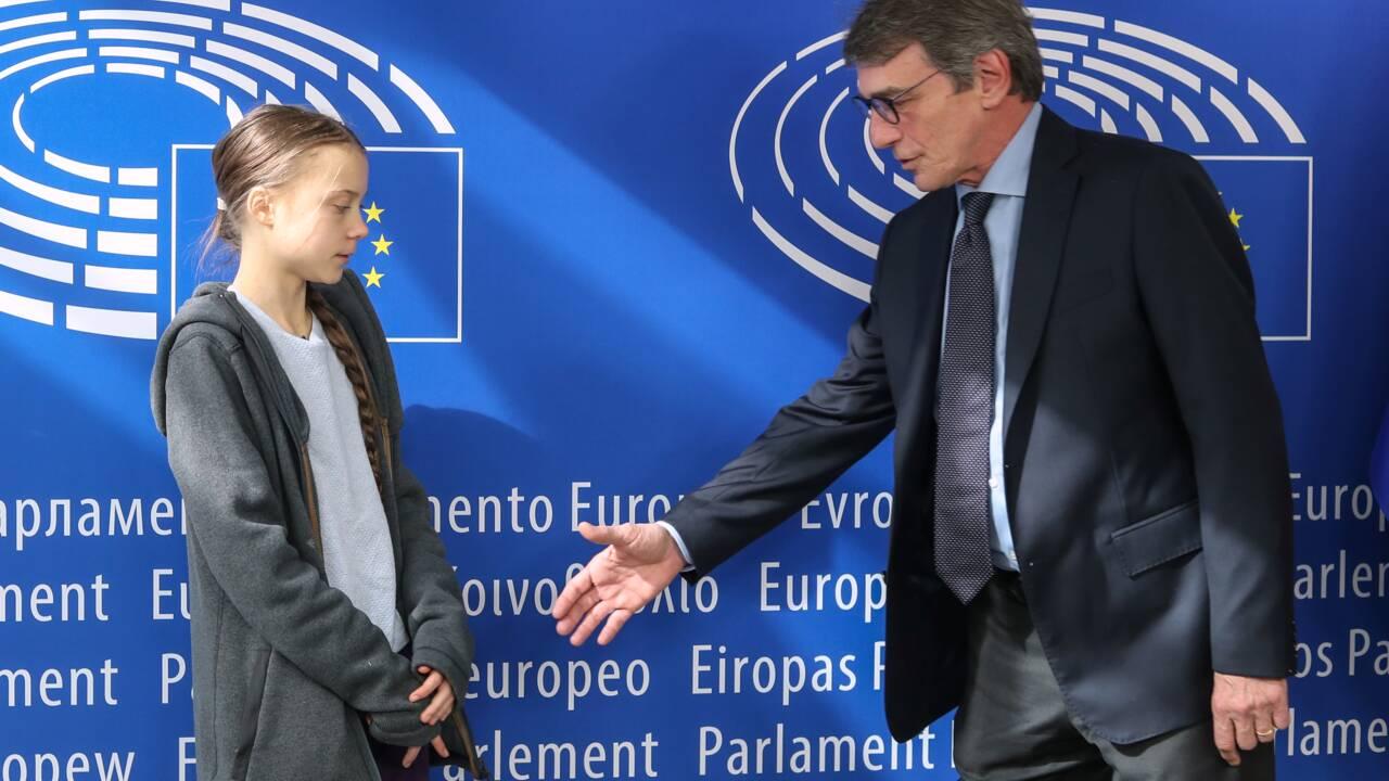 """Climat: Greta Thunberg critique le """"prétendu"""" leadership de l'UE"""