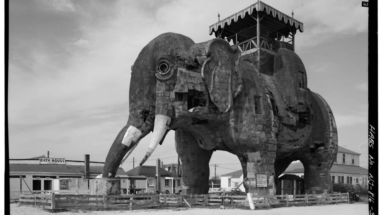 Dans le New Jersey, Airbnb propose de passer la nuit dans un éléphant géant