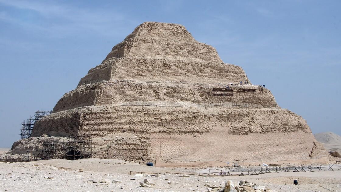Egypte: la plus vieille pyramide encore debout rouvre ses portes au public