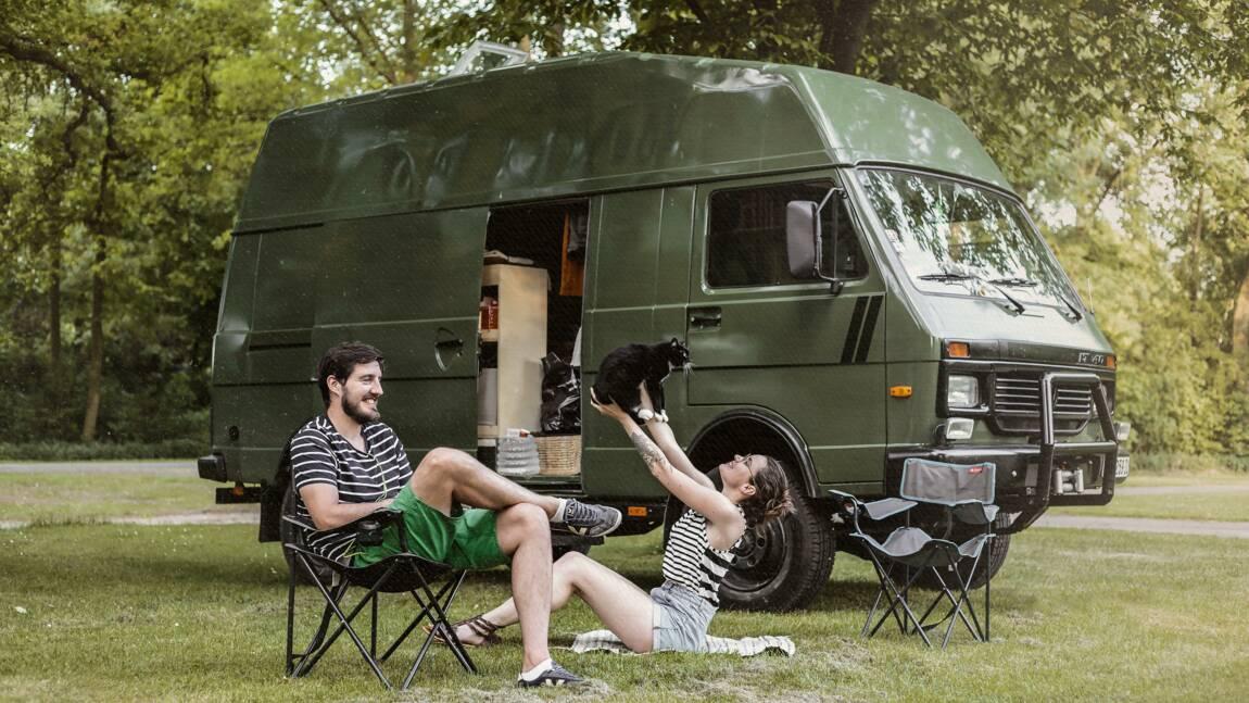 Ce couple de Français a tout plaqué pour vivre en van