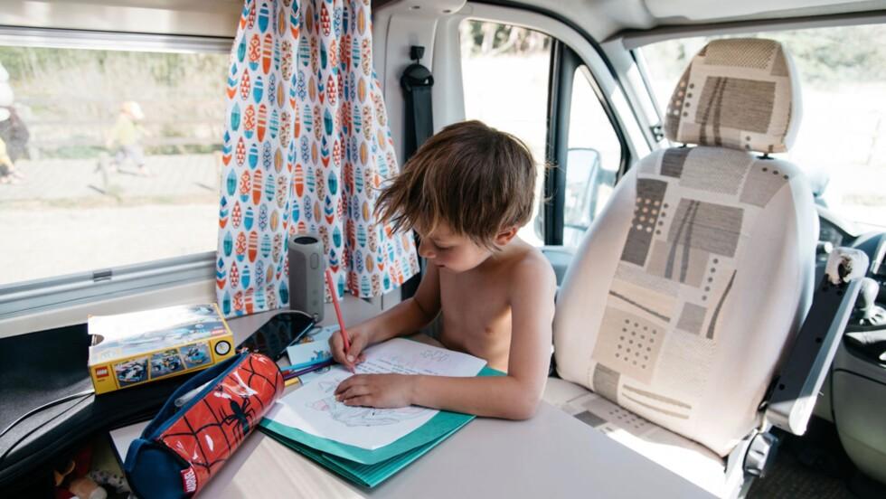 8 conseils pour voyager en van avec ses enfants