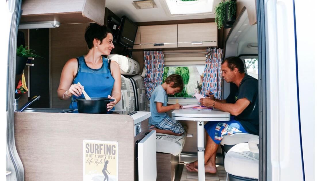 Les vacances en van : cette famille témoigne