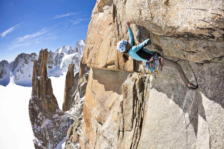 """Stéphanie Bodet, grimpeuse : """"Une fois en action, ma peur disparaît… Mon regard et mes sens se focalisent sur l'immédiat"""""""
