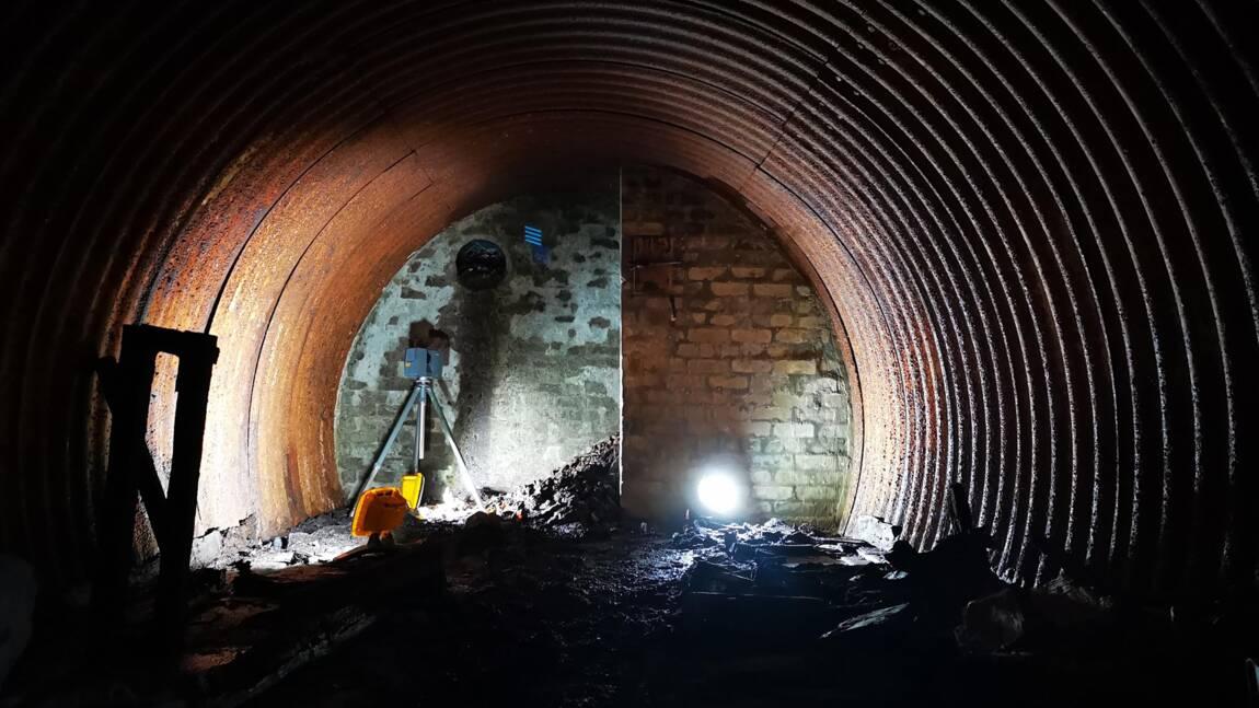 """Un bunker utilisé par """"l'armée secrète de Churchill"""" découvert dans la forêt écossaise"""