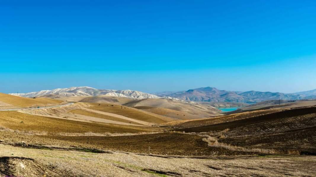 Moyen Atlas marocain, situé entre le Rif et le Haut Atlas