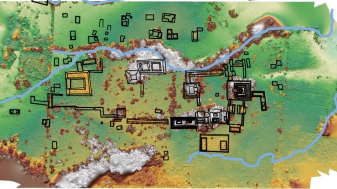 Les ruines d'un ancien royaume maya exhumées sur le terrain d'un éleveur au Mexique