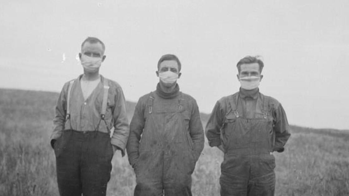Peut-on comparer la pandémie de coronavirus avec la grippe espagnole de 1918?