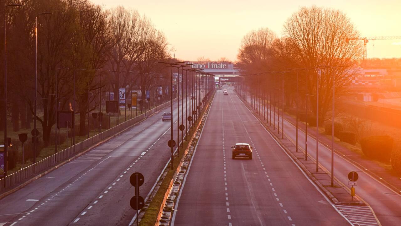 Coronavirus: baisse de la pollution de l'air dans le Nord de l'Italie