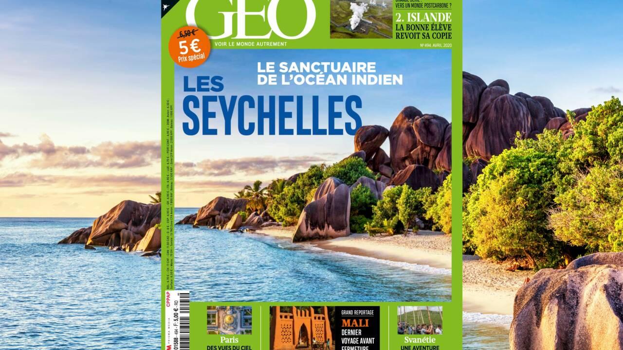 Les Seychelles au sommaire du nouveau numéro de GEO