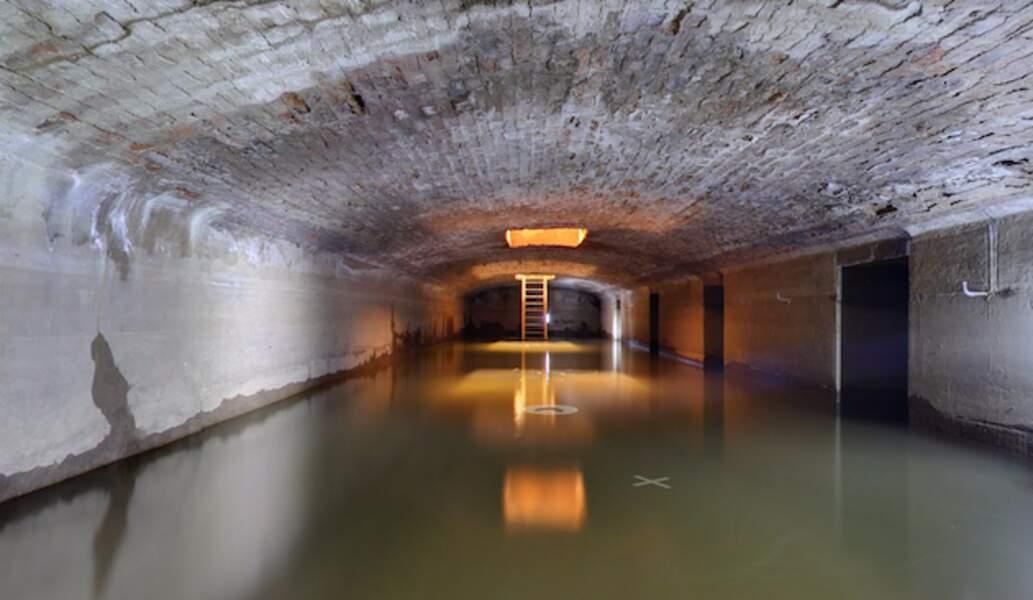 Les sous-sol de l'Opéra Garnier