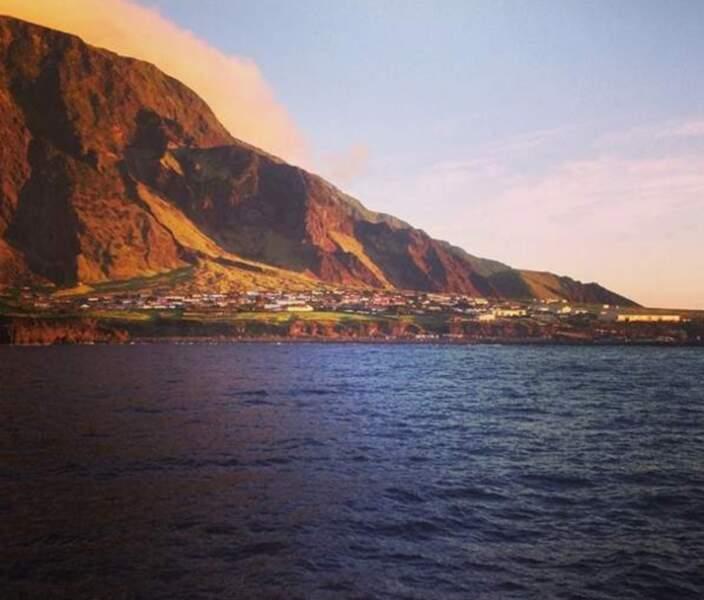 Tristan da Cunha, cette toute petite île en plein Atlantique Sud