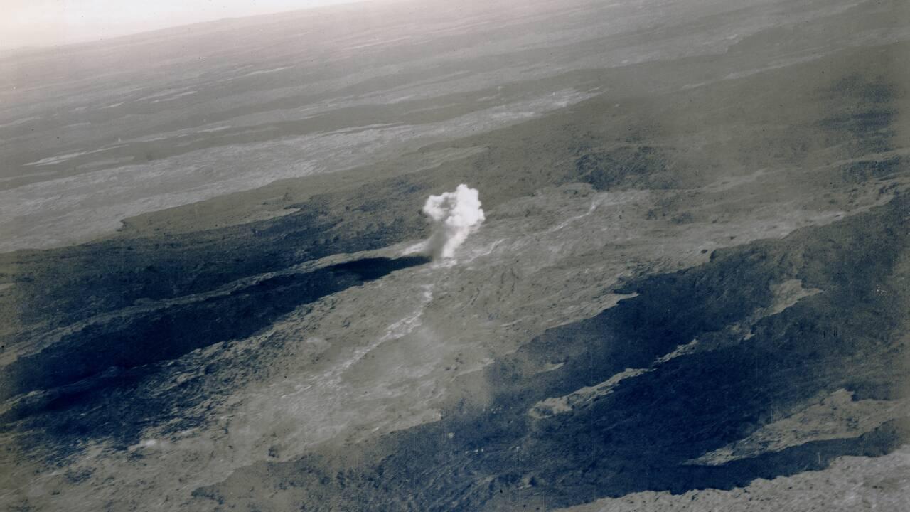 Un randonneur découvre des bombes larguées en 1935 sur un volcan de Hawaii
