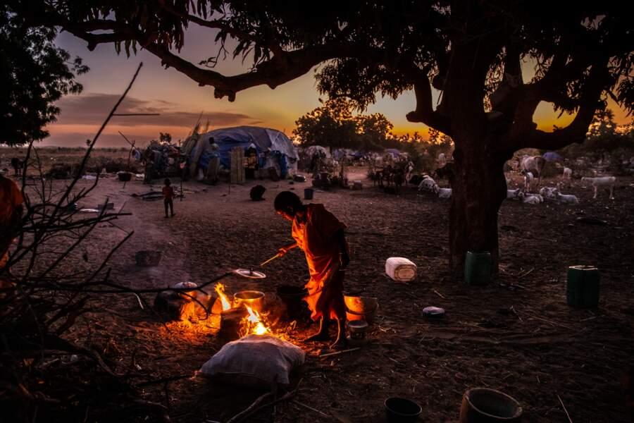 Des centaines d'habitants chassés de leurs villages