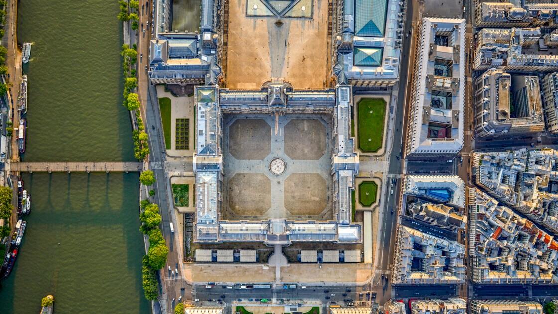 Paris : des vues du ciel inédites et surprenantes