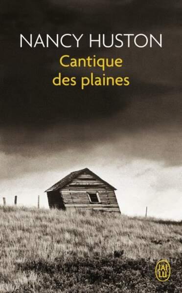 Cantiques des plaines, de Nancy Houston