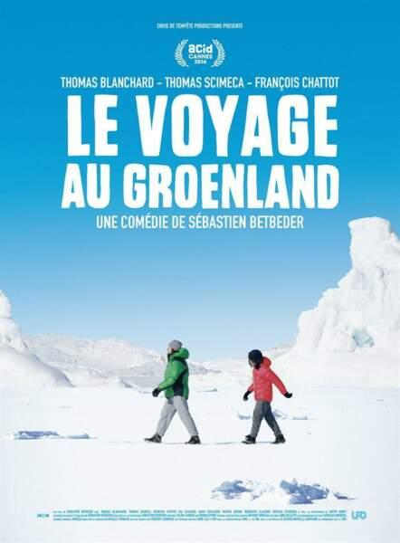 La voyage au Groenland