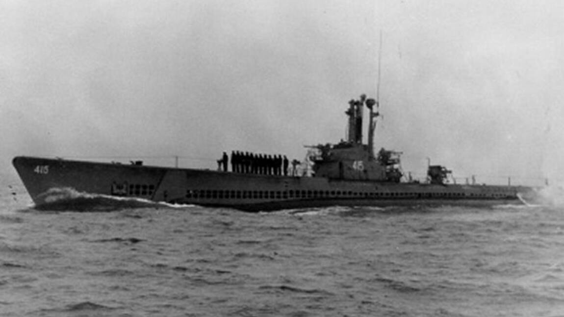L'épave d'un sous-marin américain retrouvée 60 ans après au large de Hawaii