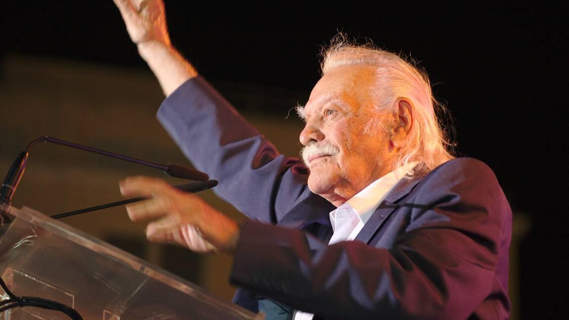 """Grèce: décès de Manolis Glézos, """"premier résistant d'Europe"""" selon le général de Gaulle"""